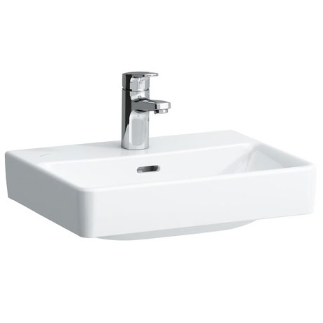 Laufen - Pro S 1 Tap Hole 450mm Small Basin with Ground Base - 16961 profile large image view 1