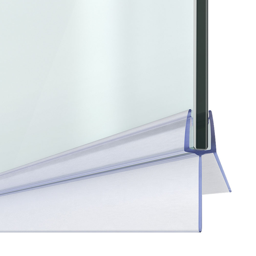 16-18mm Gap Bath Shower Screen Door Seal Strip - Glass 4-6mm
