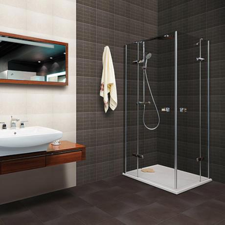 16 Taranto Matt Graphite Floor Tiles - FLO-16-FT-GRP