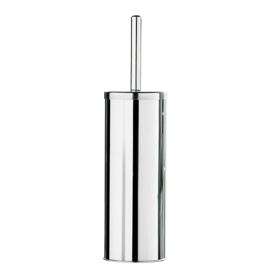 Toilet Brush & Holder - (Stainless Steel) 1600116 profile large image view 1