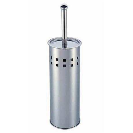 Designer Toilet Brush - Stainless Steel Square