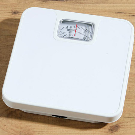 White Bathroom Scales - 1600386 Large Image
