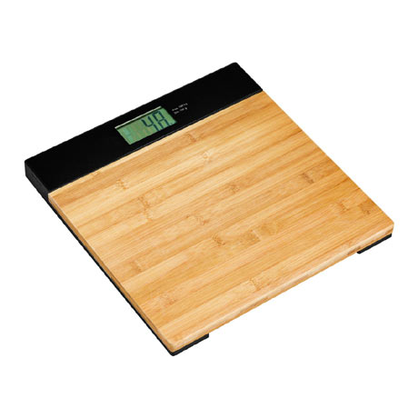 Bamboo Bathroom Scale