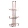 3 Tier Copper Plated Storage Rack profile small image view 1