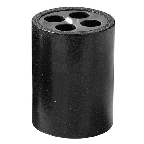 Anthracite Toothbrush Holder - 1601077 profile large image view 1