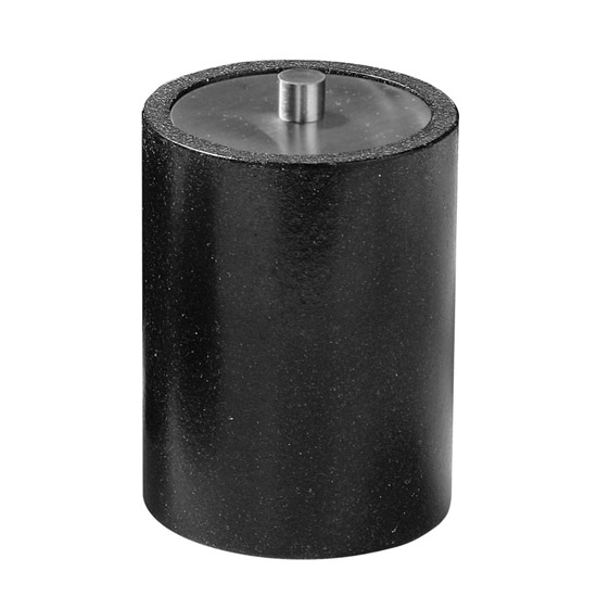 Anthracite Cotton Bud Holder - 1601081 Large Image