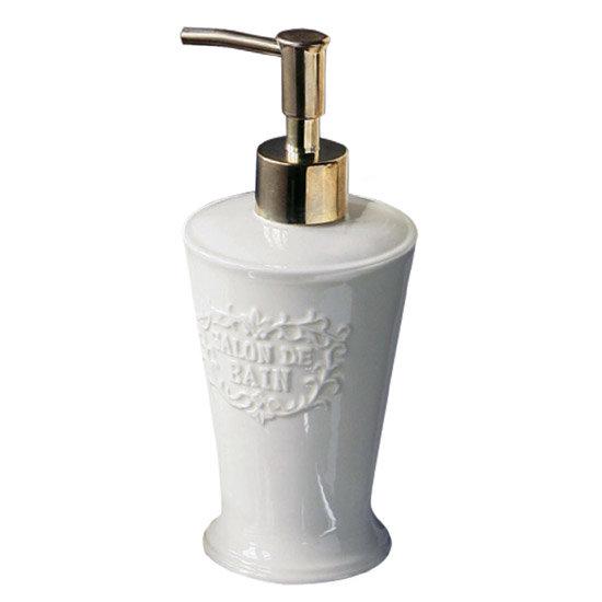 Traditional 'Salon De Bain' Lotion Dispenser with Gold Pump - 1601226