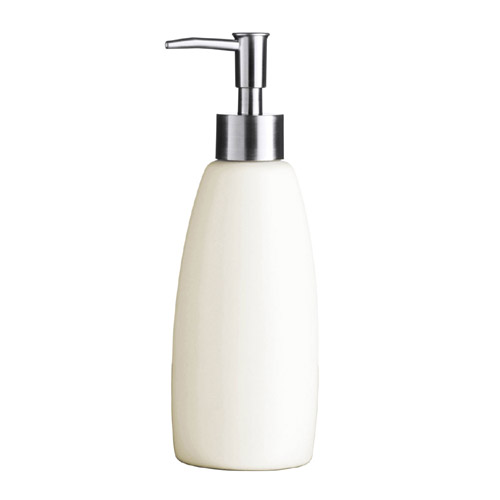 Natural Stoneware Lotion Dispenser - 1601333 profile large image view 1