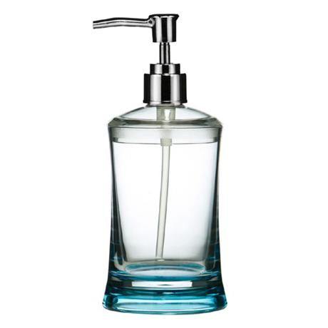 Turquoise/Clear Acrylic Lotion Dispenser - 1601360