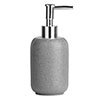 Canyon Grey Stone Effect Lotion Dispenser profile small image view 1