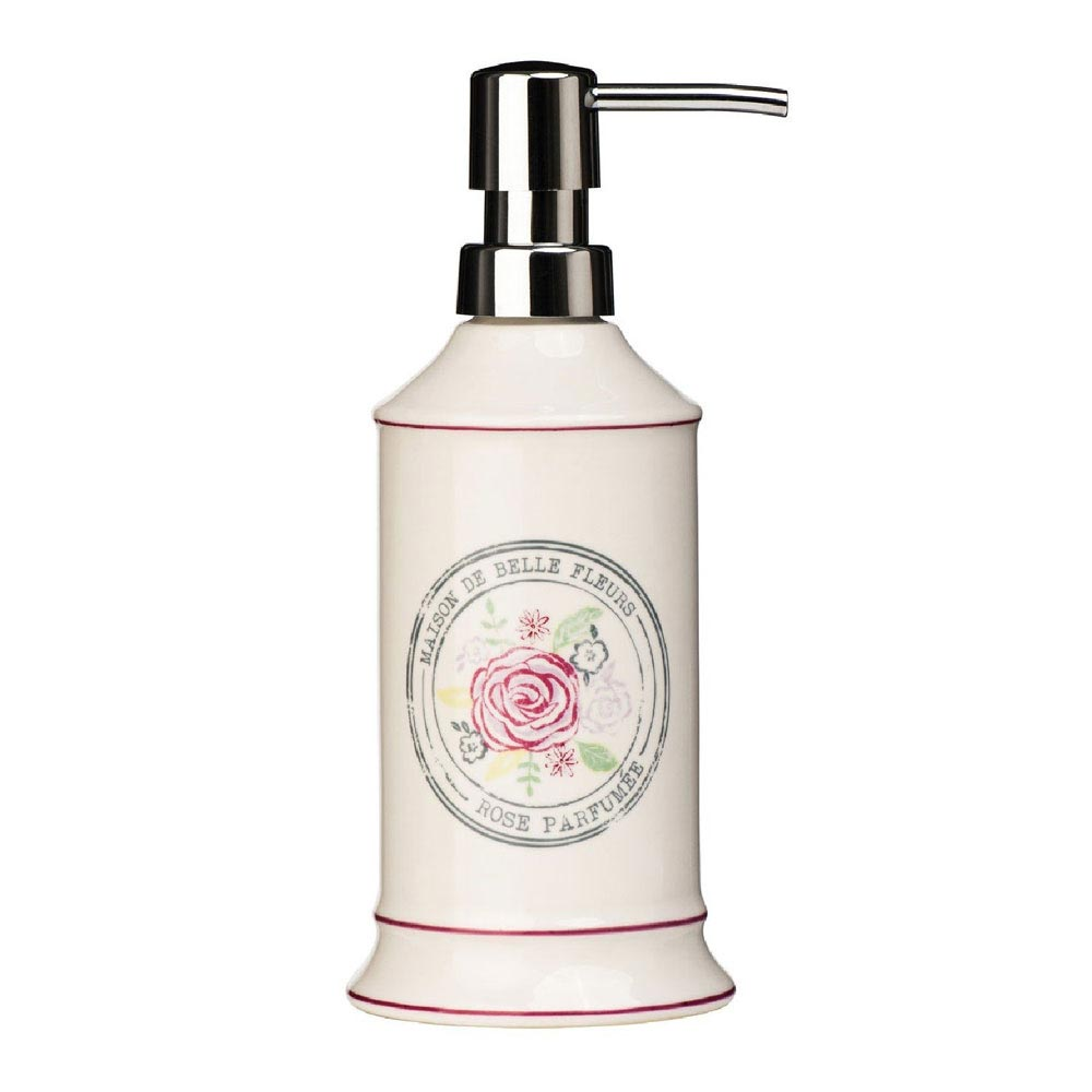 Belle Cream Ceramic Lotion Dispenser - 1601520 Large Image