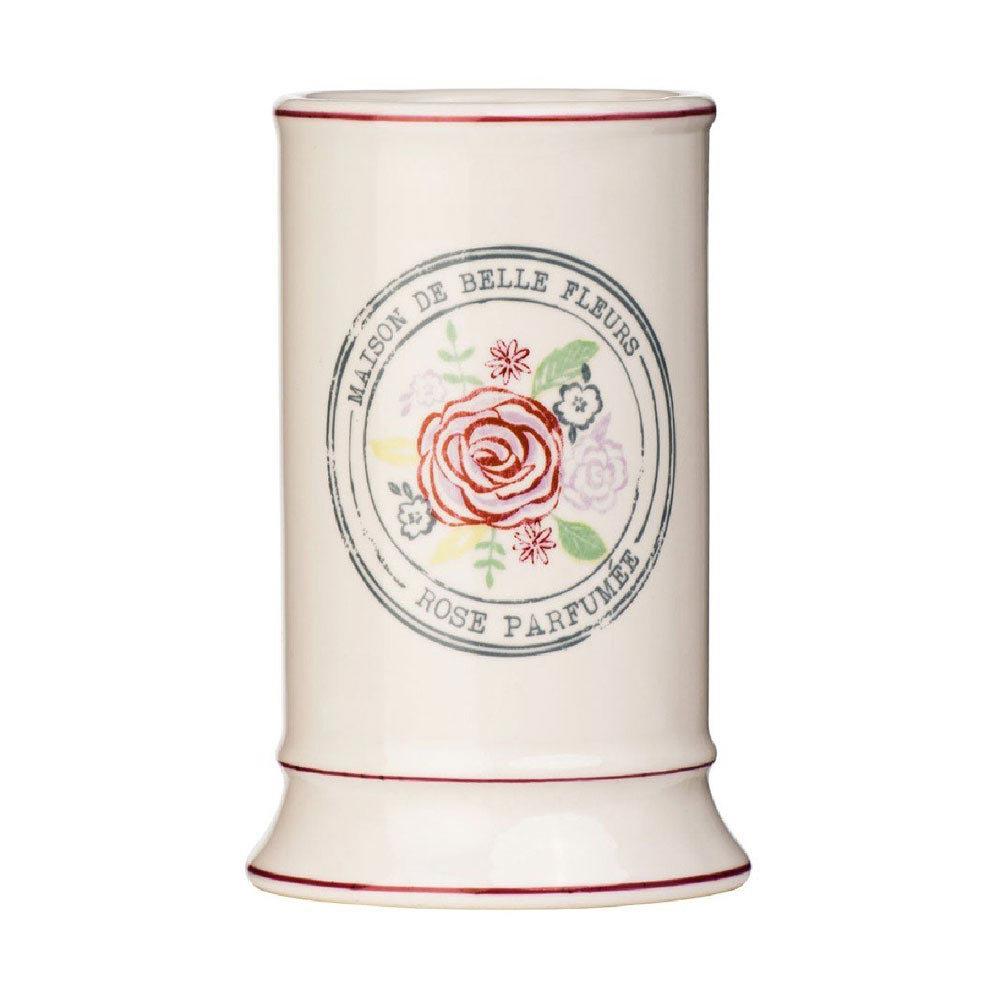 Belle Cream Ceramic Tumbler - 1601522 Large Image