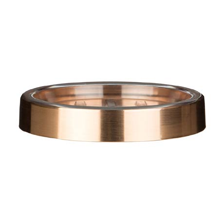 Shine Rose Gold Soap Dish - 1601577