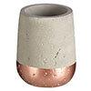 Neptune 250ml Tumbler - Concrete & Copper Medium Image