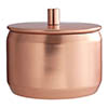 Madison Shine Copper Finish Storage Canister profile small image view 1
