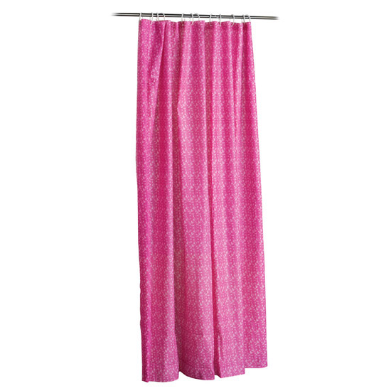 Pink Mosaic PEVA Shower Curtain W1800 x H1800mm - 1605205 profile large image view 2