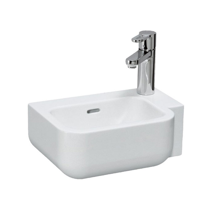 Laufen - Pro 1 Tap Hole 360mm Small Basin - 16675 profile large image view 1