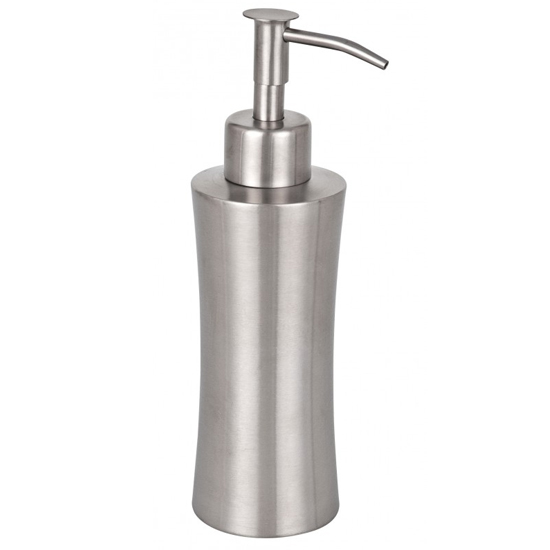 Wenko Pieno Soap Dispenser - Stainless Steel - 16739100 Large Image