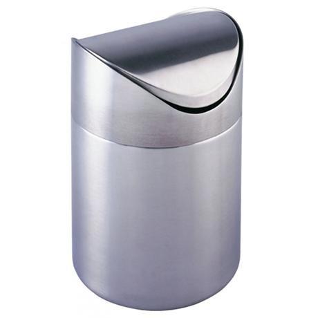 Wenko Otranto 3 Litre Cosmetic Bin - Stainless Steel - 16800100