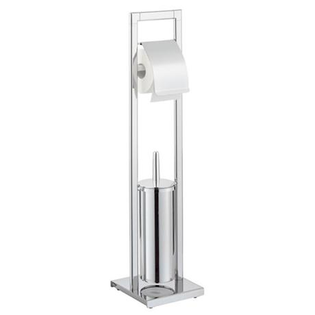 Wenko venice standing wc set chrome 16932100 at for Chatsworth bathroom faucet parts