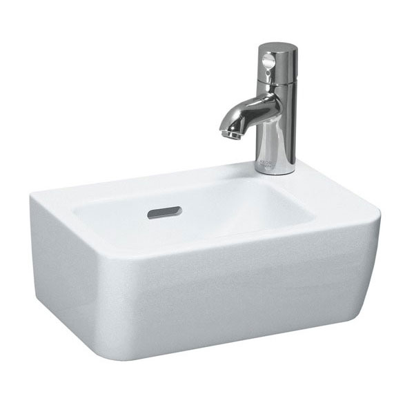 Laufen - Pro 1 Tap Hole 360mm Small Basin - 16955 profile large image view 1