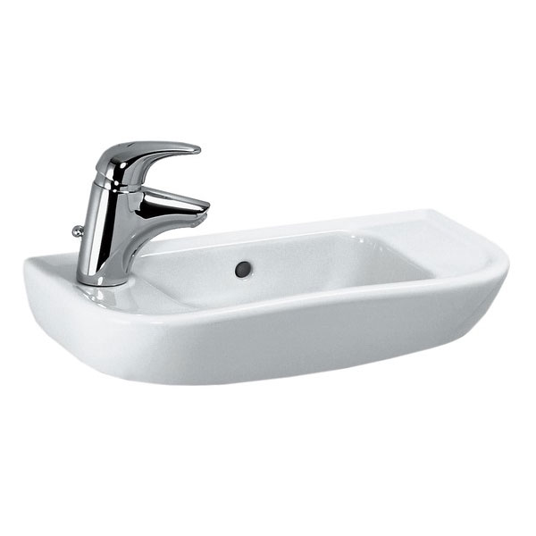 Laufen - Pro 1 Tap Hole 500mm Small Basin - Right or Left Hand Option profile large image view 1