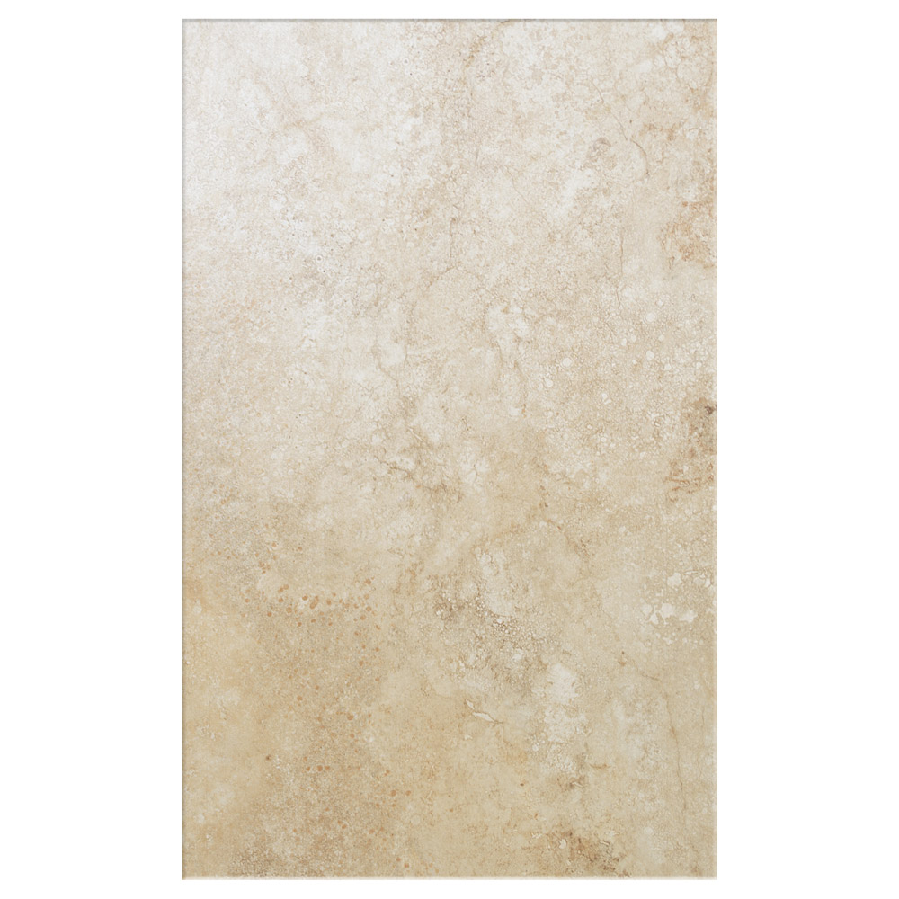 Salerno Cream Travertine Effect Wall Tiles - 250mm x 400mm Large Image