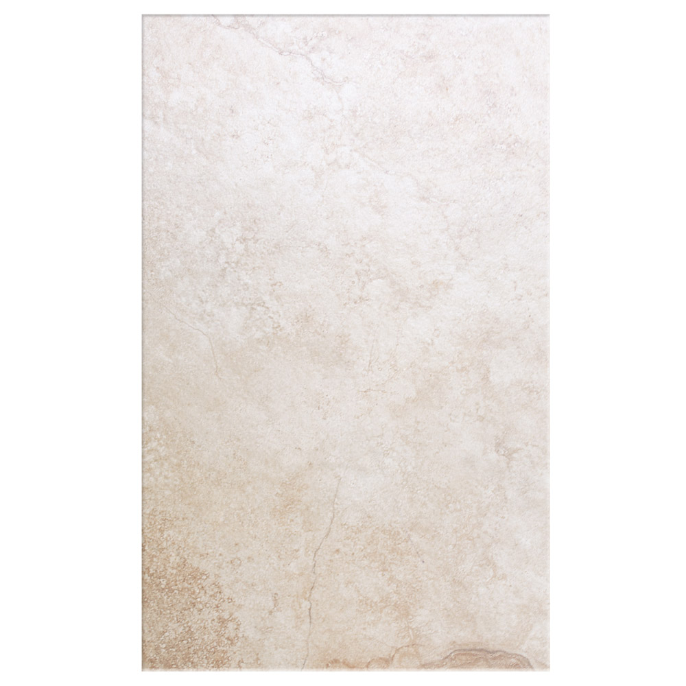 Salerno Ivory Travertine Effect Wall Tiles - 250mm x 400mm Large Image