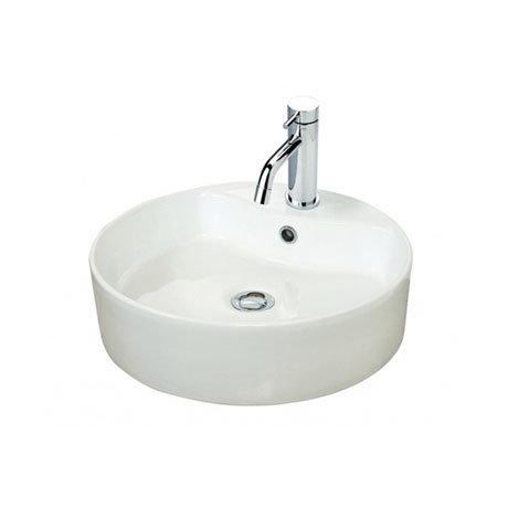 Miller - 460mm Round Countertop Ceramic Basin - 171W1