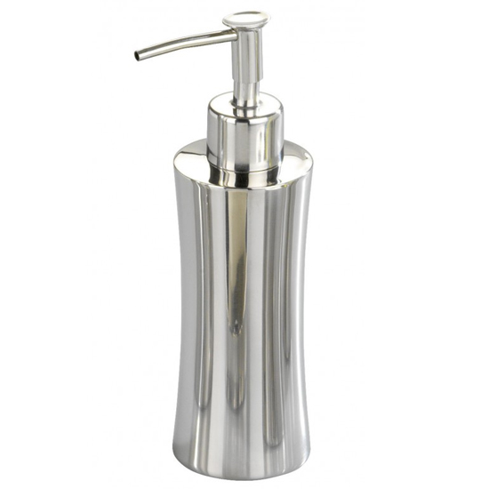 Wenko Pieno Shiny Soap Dispenser - Stainless Steel - 17274100 Large Image