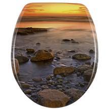 Wenko Stone Shore Duroplast Toilet Seat - 17612100 Medium Image