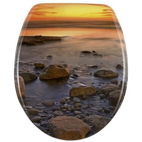 Wenko Stone Shore Duroplast Toilet Seat - 17612100