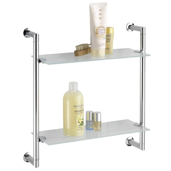 Wenko Style Wall Rack - Chrome - 17772100 profile large image view 1