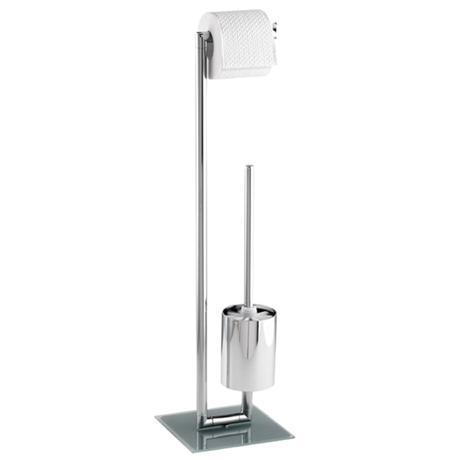 Wenko Style Standing WC Set - Chrome - 17773100