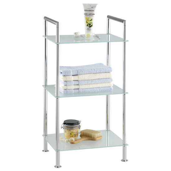 Wenko Style Bathroom Rack - Chrome - 17777100 Large Image