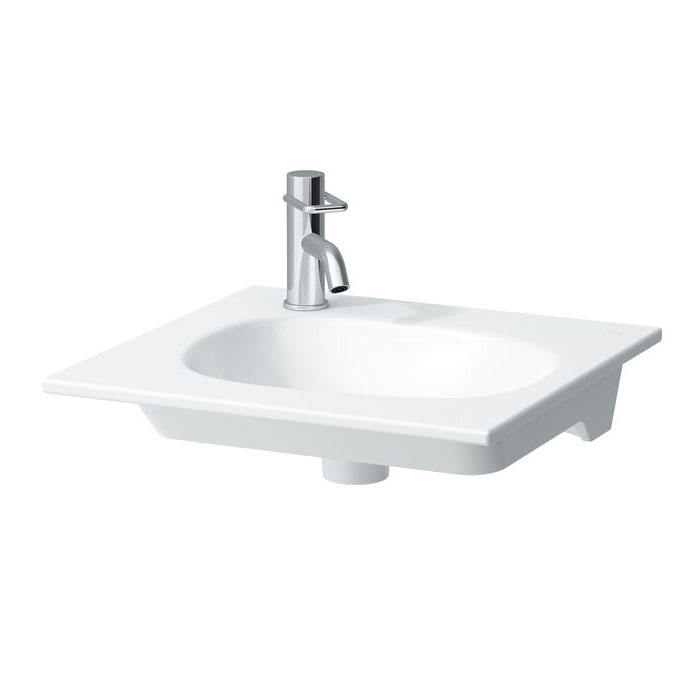 Laufen - Palomba Left Hand Tap Hole Countertop Basin - Various Size Options Large Image