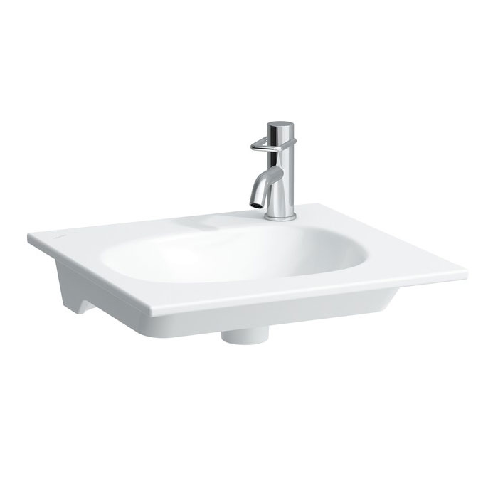 Laufen - Palomba Right Hand Tap Hole Countertop Basin - Various Size Options Large Image