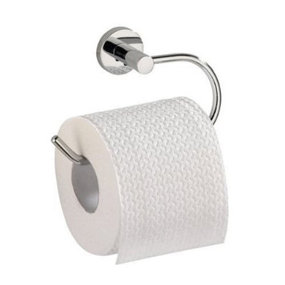 Wenko Elegance Power-Loc Toilet Roll Holder - Chrome - 17804100 Large Image