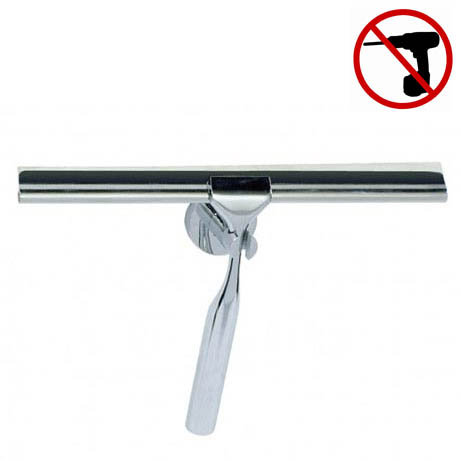 Wenko Elegance Power-Loc Bathroom Squeegee - Chrome - 17806100