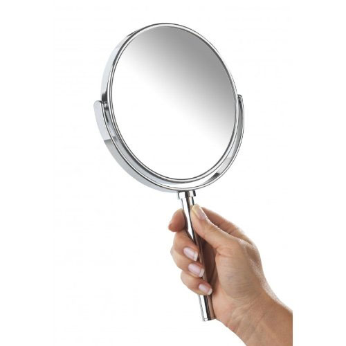 Wenko Elegance Power-Loc Handheld and Wall Mounted Cosmetic Mirror - 17817100 profile large image view 2