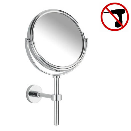 Wenko Elegance Power-Loc Handheld and Wall Mounted Cosmetic Mirror - 17817100