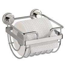 Wenko Sion Power-Loc Toilet Paper Holder - Chrome - 17822100 Medium Image