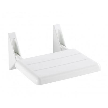 Wenko Secura Folding Shower Seat - White - 17937100