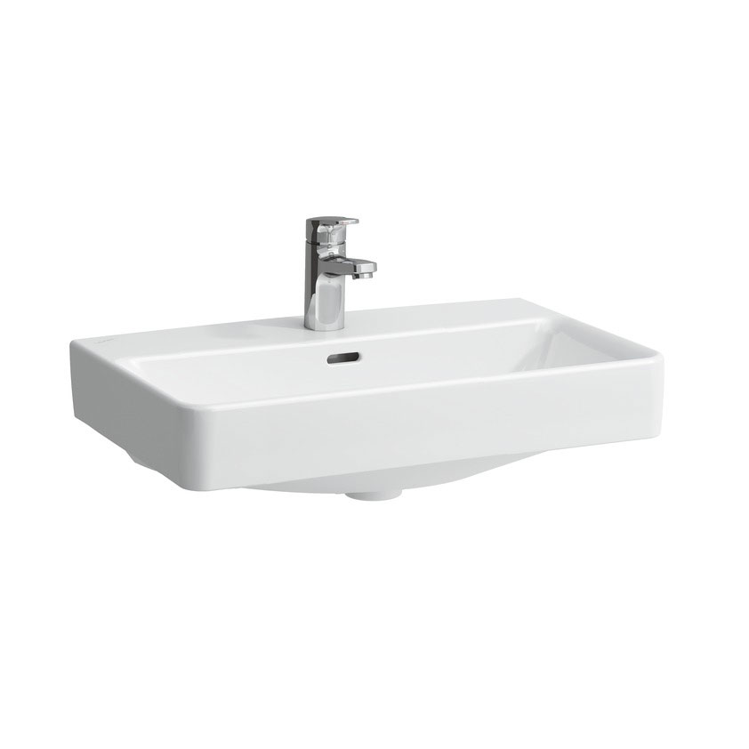 Laufen - Pro S 1 Tap Hole Compact Basin with Ground Base - 2 x Size Options Large Image
