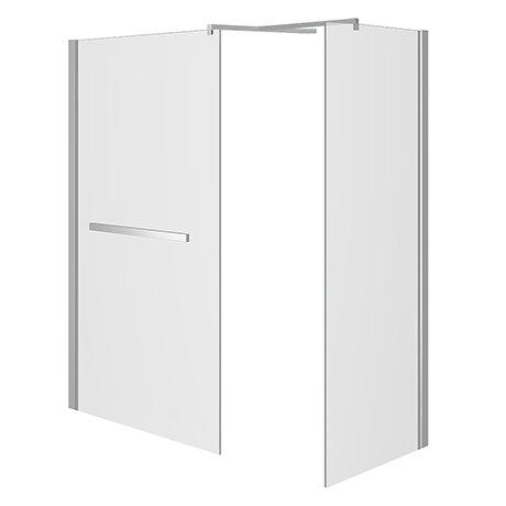 Matrix 10mm Glass Walk In Enclosure + Side Panel (1700 x 760mm) No Tray