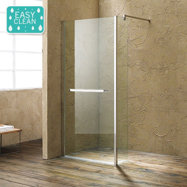 Matrix 10mm Wet Room Shower Enclosure - 1700 x 760mm profile large image view 1