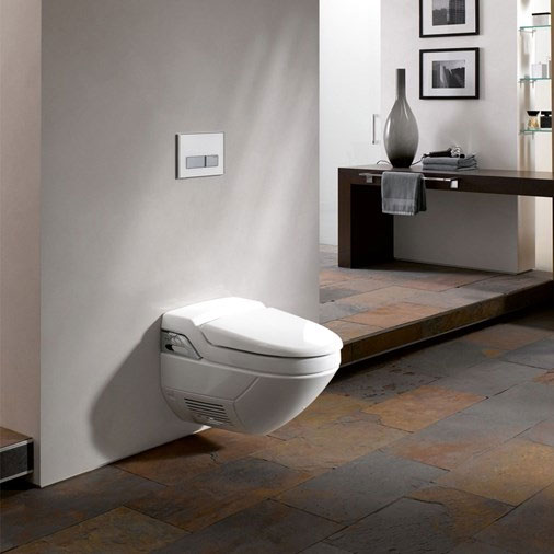Geberit - AquaClean 8000 Plus Wall Hung Shower WC & Soft Close Seat profile large image view 5