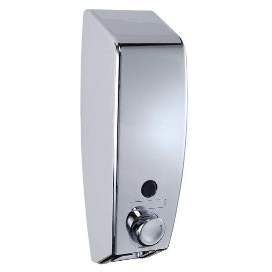 Wenko Varese Soap Dispenser - Chrome - 3 Size Options Large Image