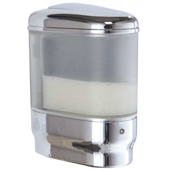 Wenko Trieste Infrared 500ml Soap Dispenser - Chrome - 18419100 profile large image view 1