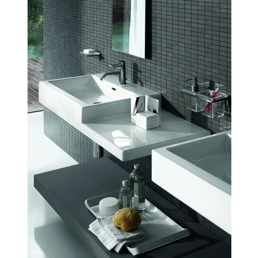 Laufen - Living City 1 Tap Hole 1000mm Basin with Shelf - Left or Right Hand Option Profile Large Image